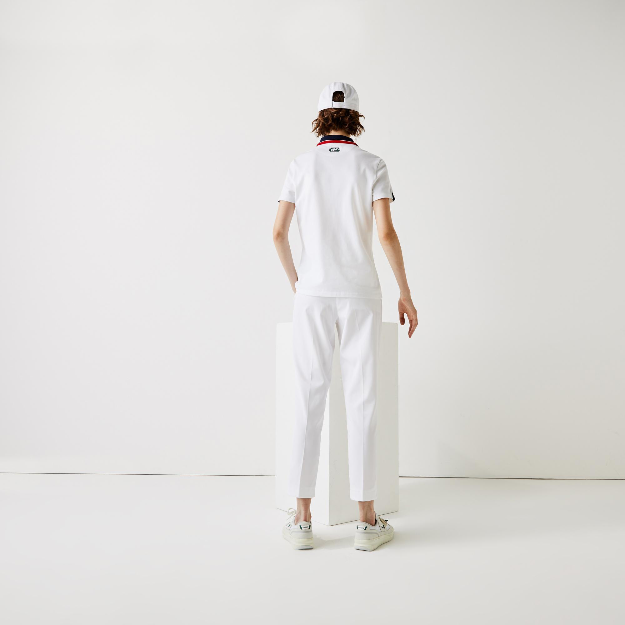 Lacoste Sport Kadın Beyaz Polo