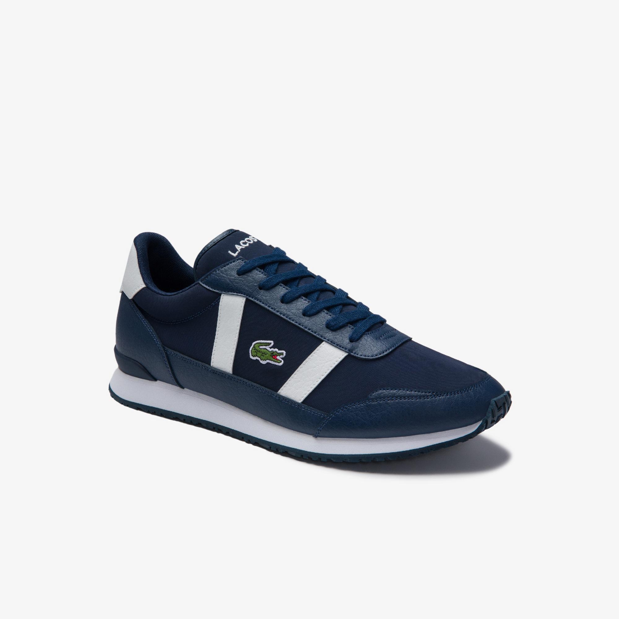 Lacoste Partner 0120 1 Sma Erkek Lacivert - Beyaz Sneaker