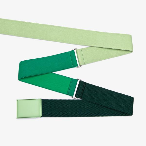 Lacoste Fashion Show Unisex Yeşil Kemer