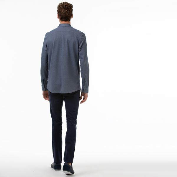 Lacoste Erkek Slim Fit Lacivert Pantolon