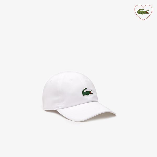 Lacoste Sport Novak Djokovic Unisex Beyaz Şapka