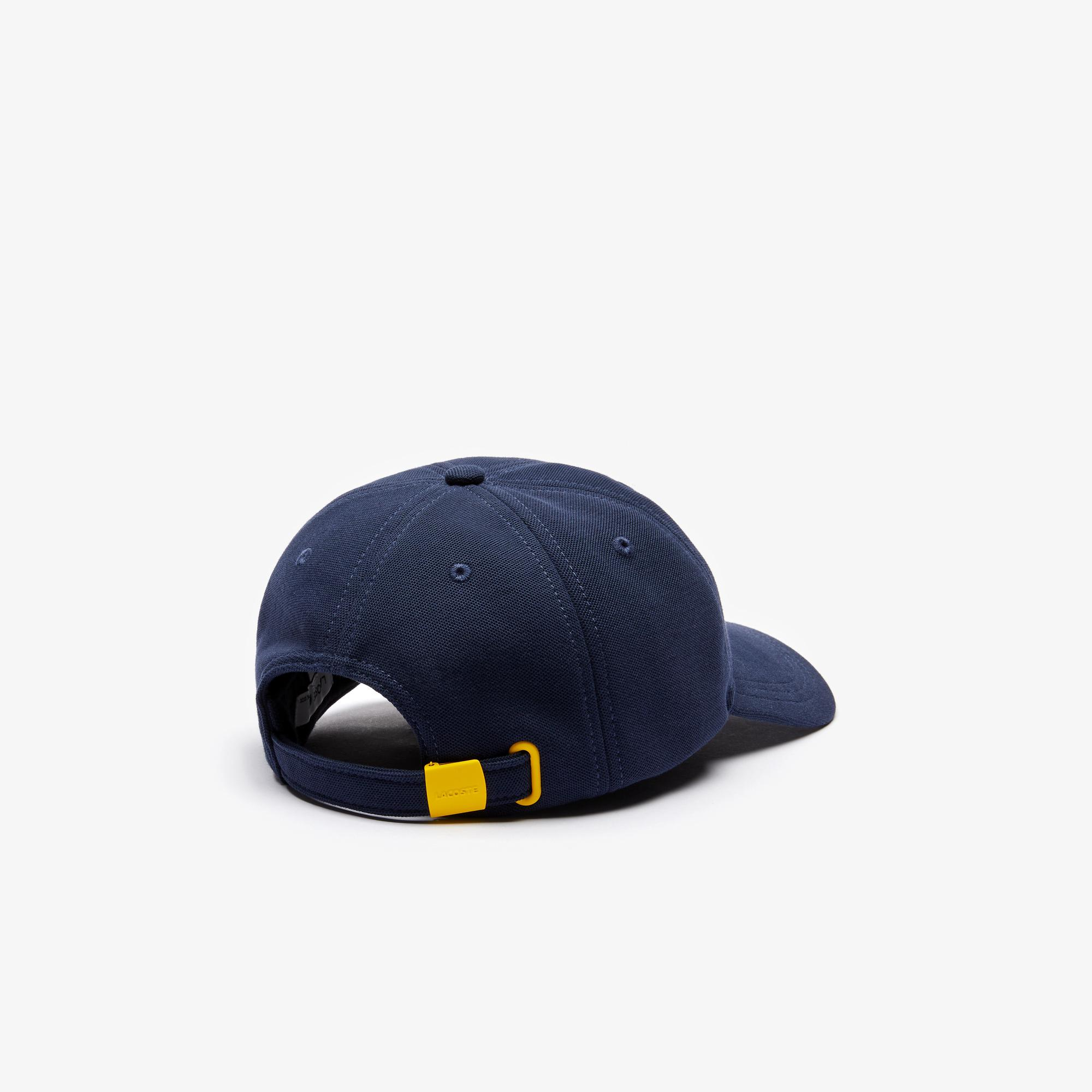 Lacoste x National Geographic Unisex Lacivert Şapka