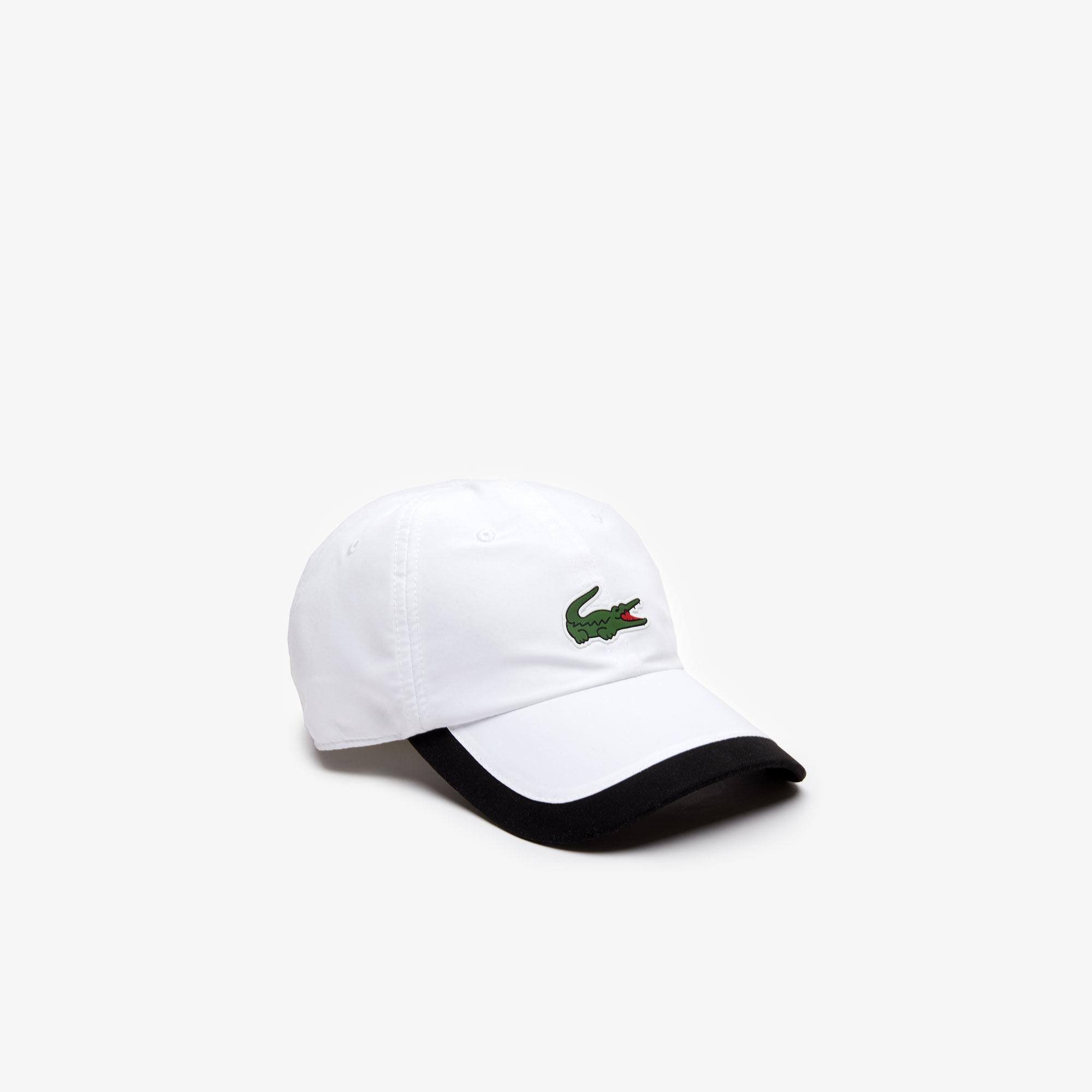 Lacoste Sport Unisex Beyaz Şapka