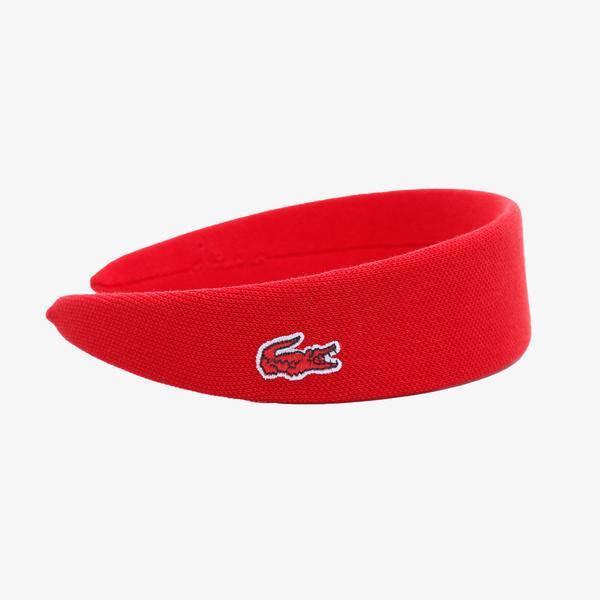 Lacoste Kırmızı Saç Bandı