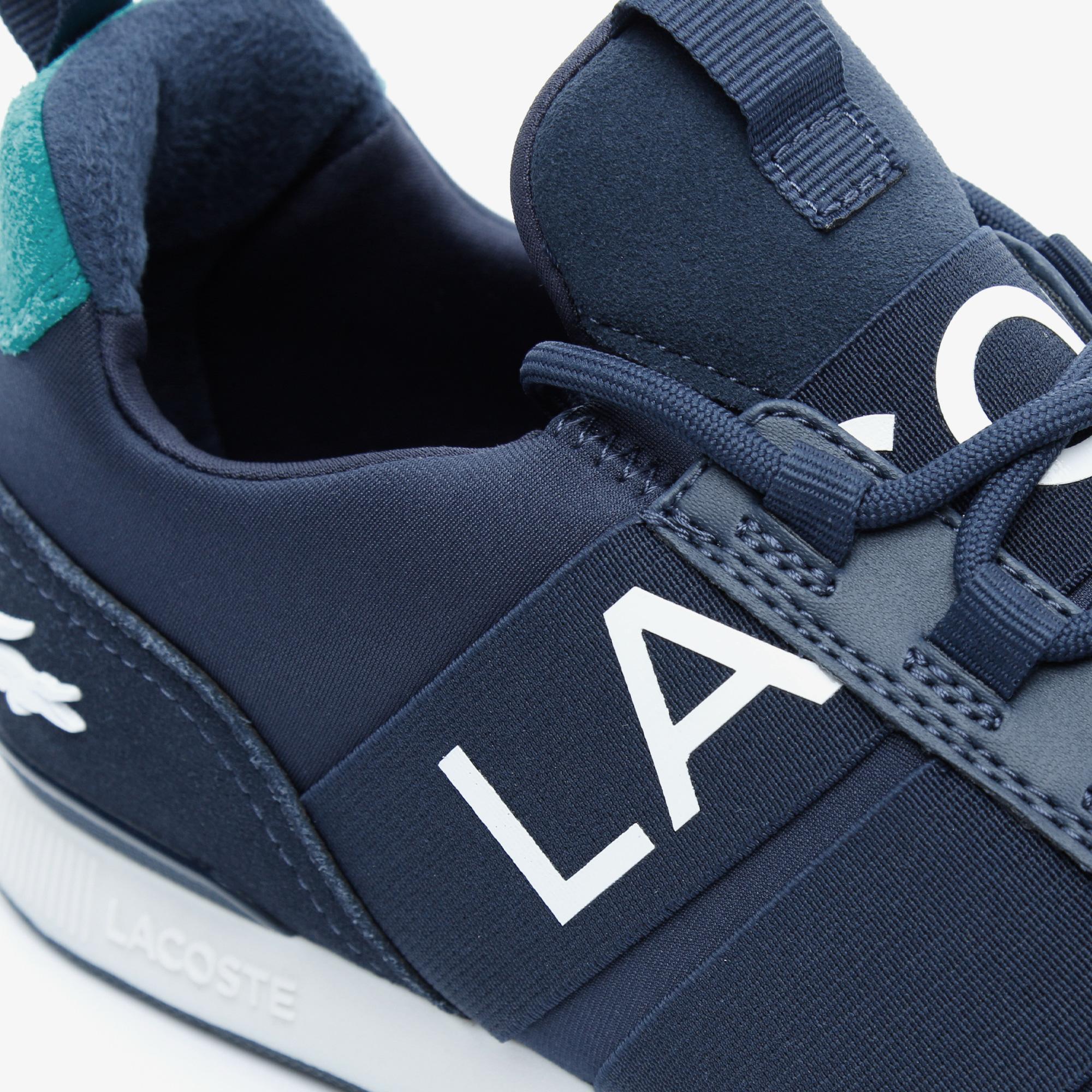 Lacoste Menerva Elite 0120 1 Cma Erkek Lacivert - Yeşil Sneaker