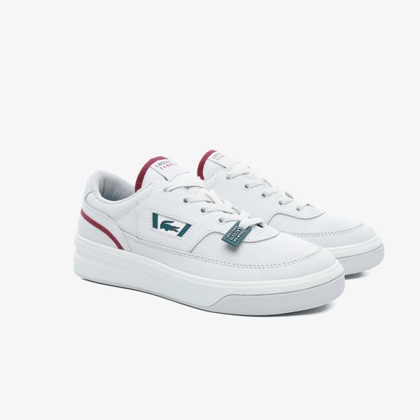 Lacoste G80 Og 120 1 Sma Erkek Beyaz Deri Sneaker