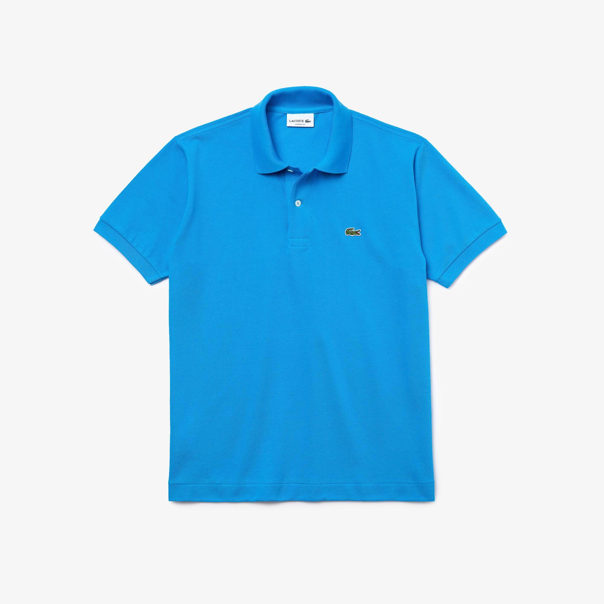 Lacoste Erkek Klasik Fit L1212 Mavi Polo