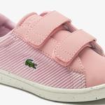 Lacoste Carnaby Evo 0120 1 Çocuk Açık Pembe Sneaker