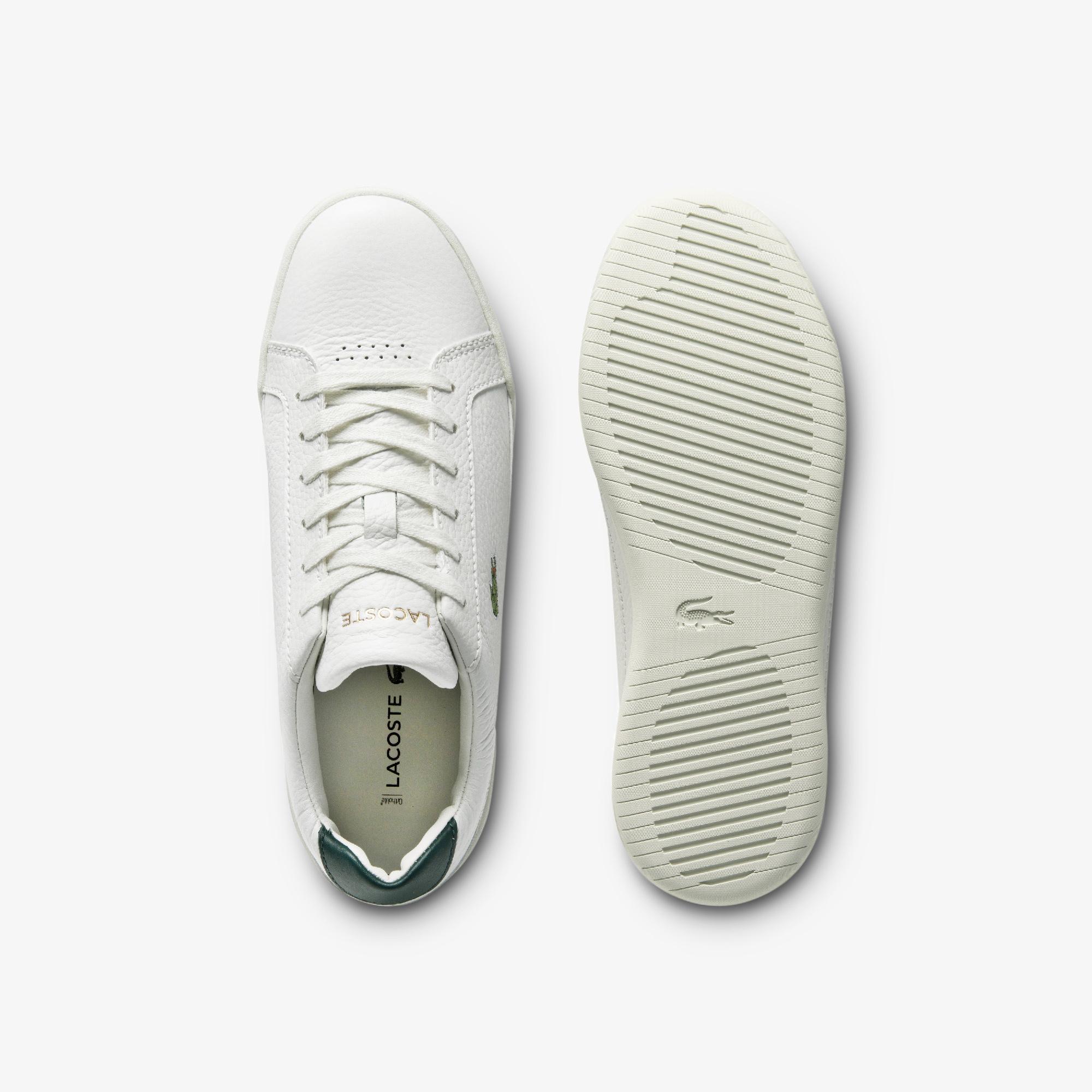 Lacoste Challenge 0120 1 Sfa Kadın Deri Beyaz - Koyu Yeşil Sneaker