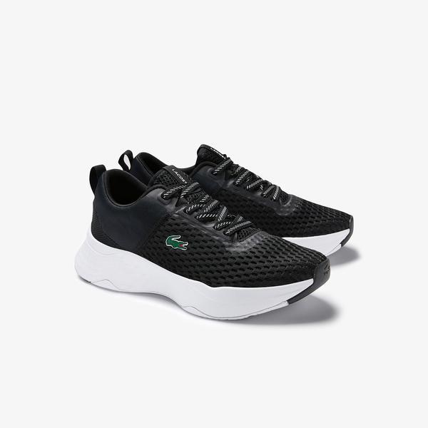 Lacoste Court-Drive 0120 1 Sfa Kadın Siyah - Beyaz Sneaker
