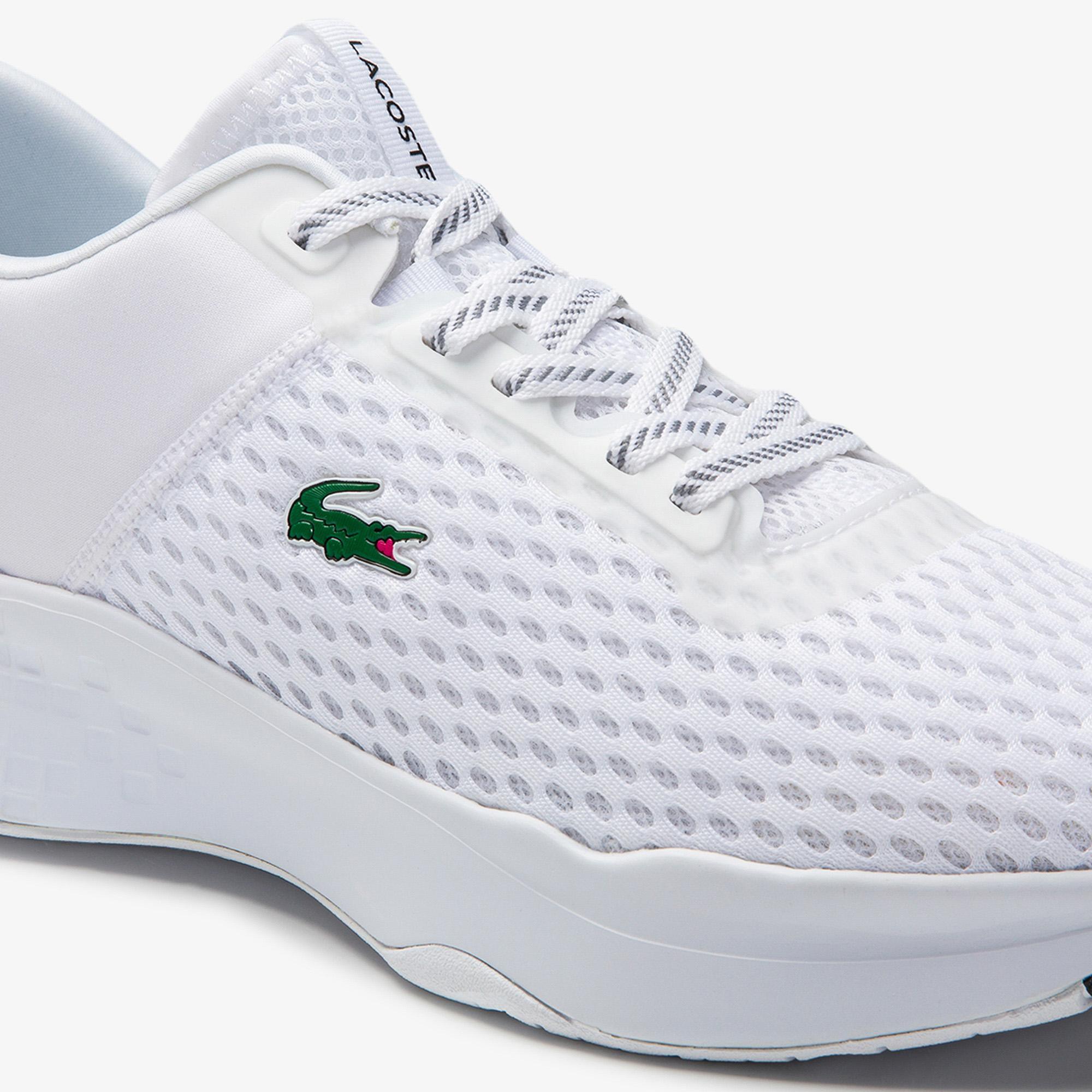 Lacoste Court-Drive 0120 1 Sma Erkek Beyaz - Siyah Sneaker