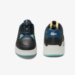 Lacoste Court Slam 0320 1 Sma Erkek Deri Siyah - Mavi Sneaker