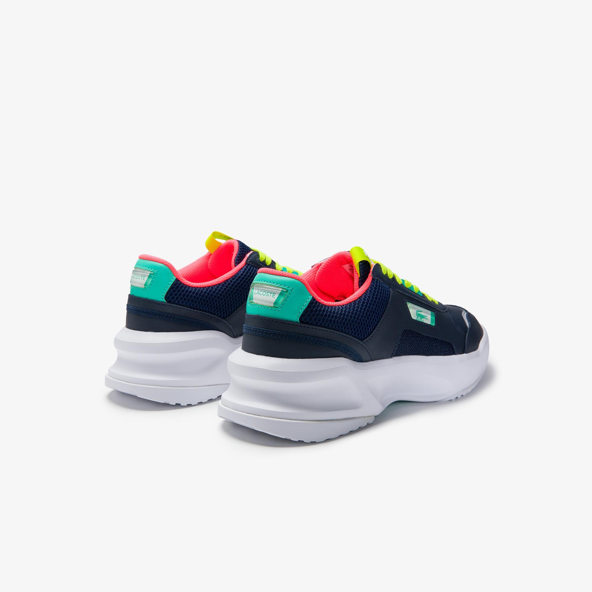 Lacoste Ace Lift 0120 1 Sma Erkek Deri Lacivert - Turkuaz Sneaker
