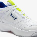 Lacoste Ace Lift Mid 0120 1 Sma Erkek Deri Beyaz - Koyu Mavi Mid Ayakkabı