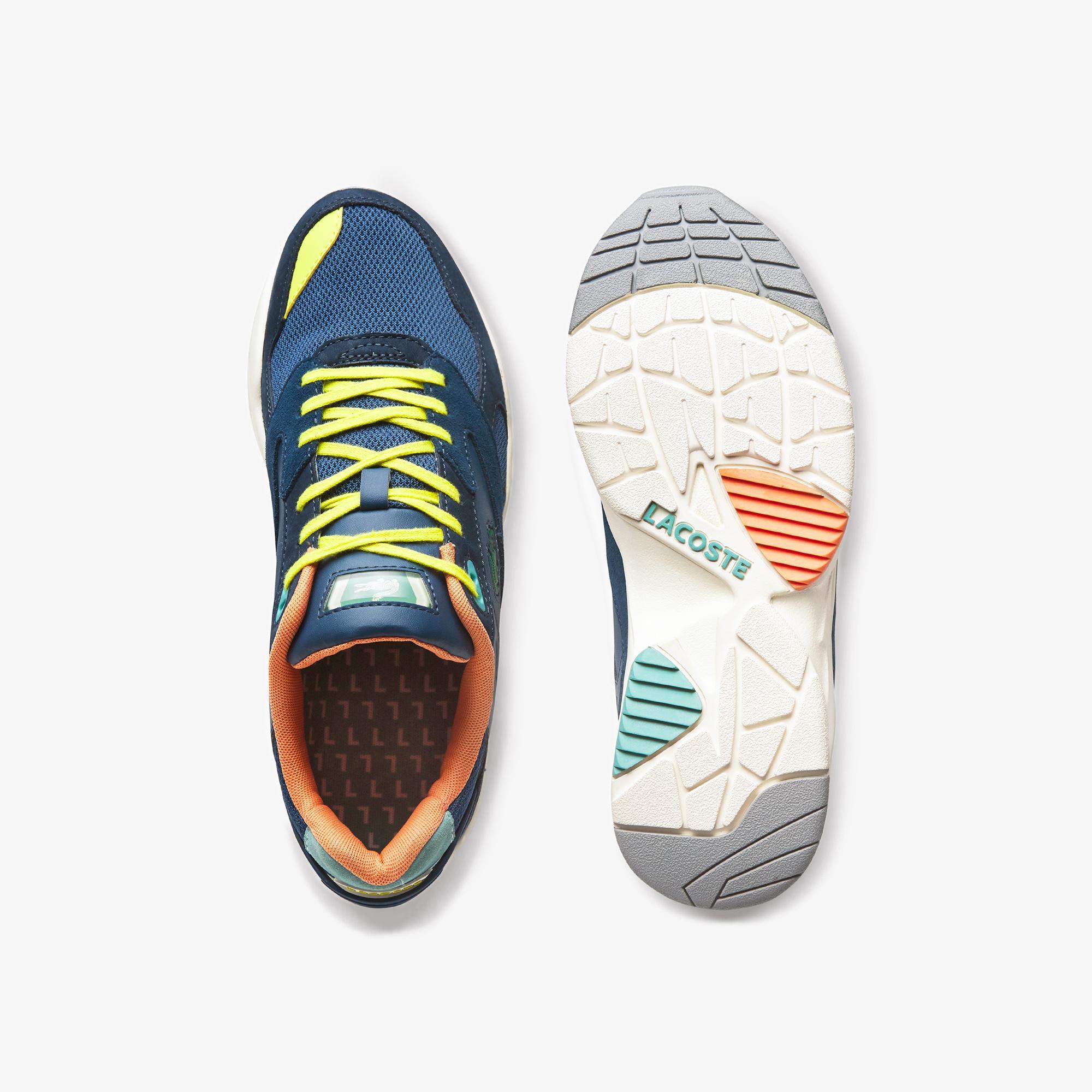 Lacoste Storm 96 Lo 0120 2 Sma Erkek Lacivert - Turkuvaz Sneaker