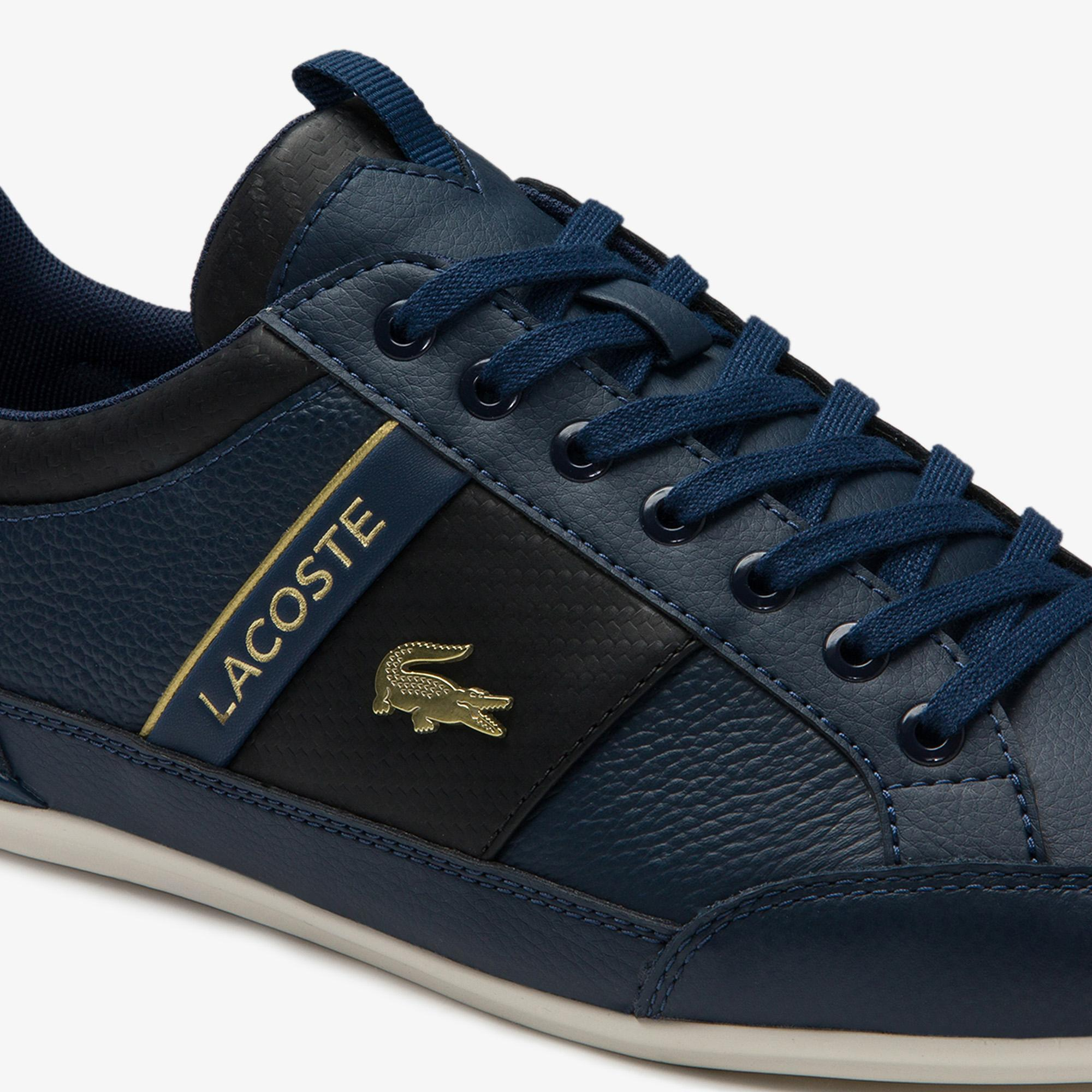 Lacoste Chaymon 0120 1 Cma Erkek Deri Lacivert - Siyah Casual Ayakkabı