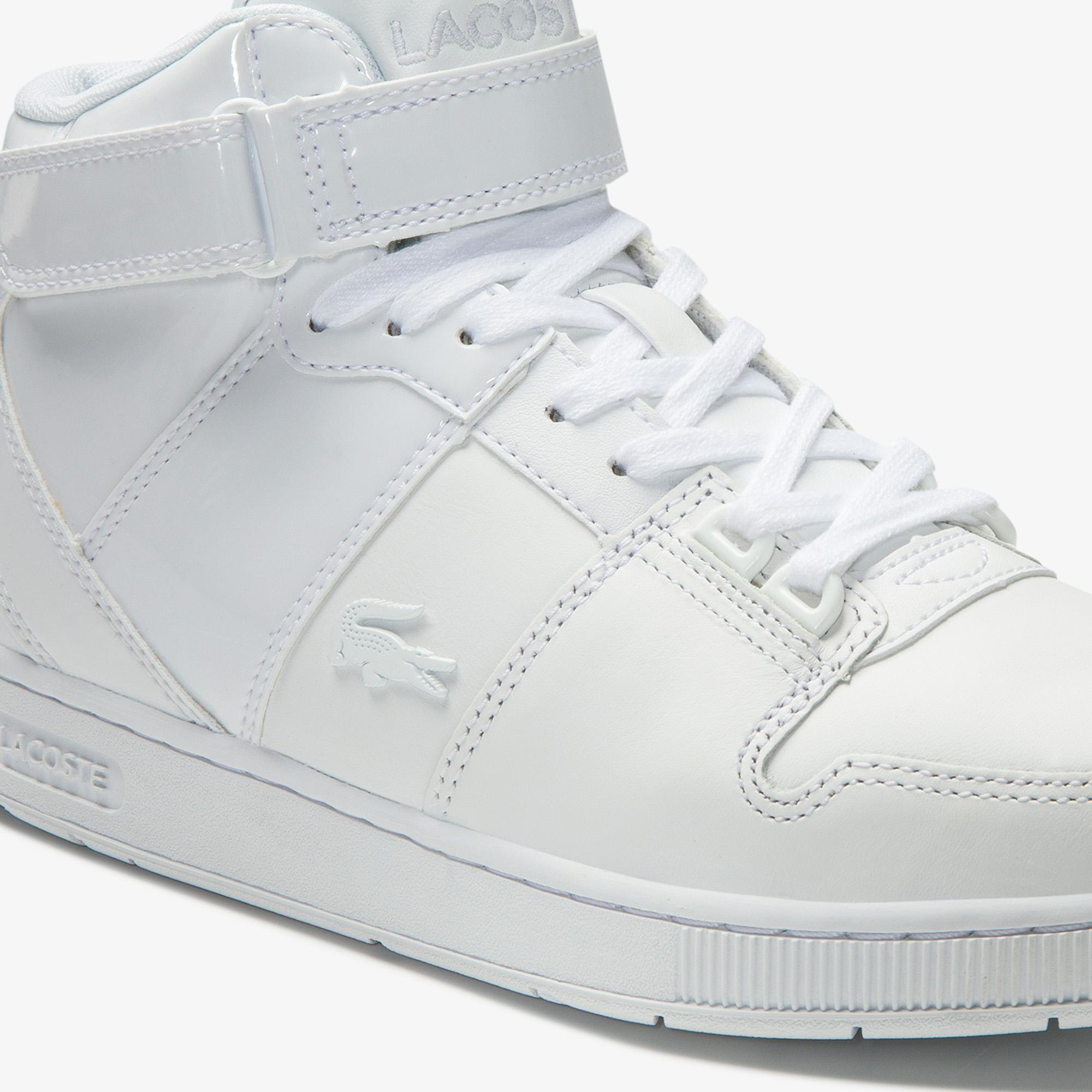 Lacoste Tramline Mid 0120 1 Sfa Kadın Deri Beyaz Mid Ayakkabı