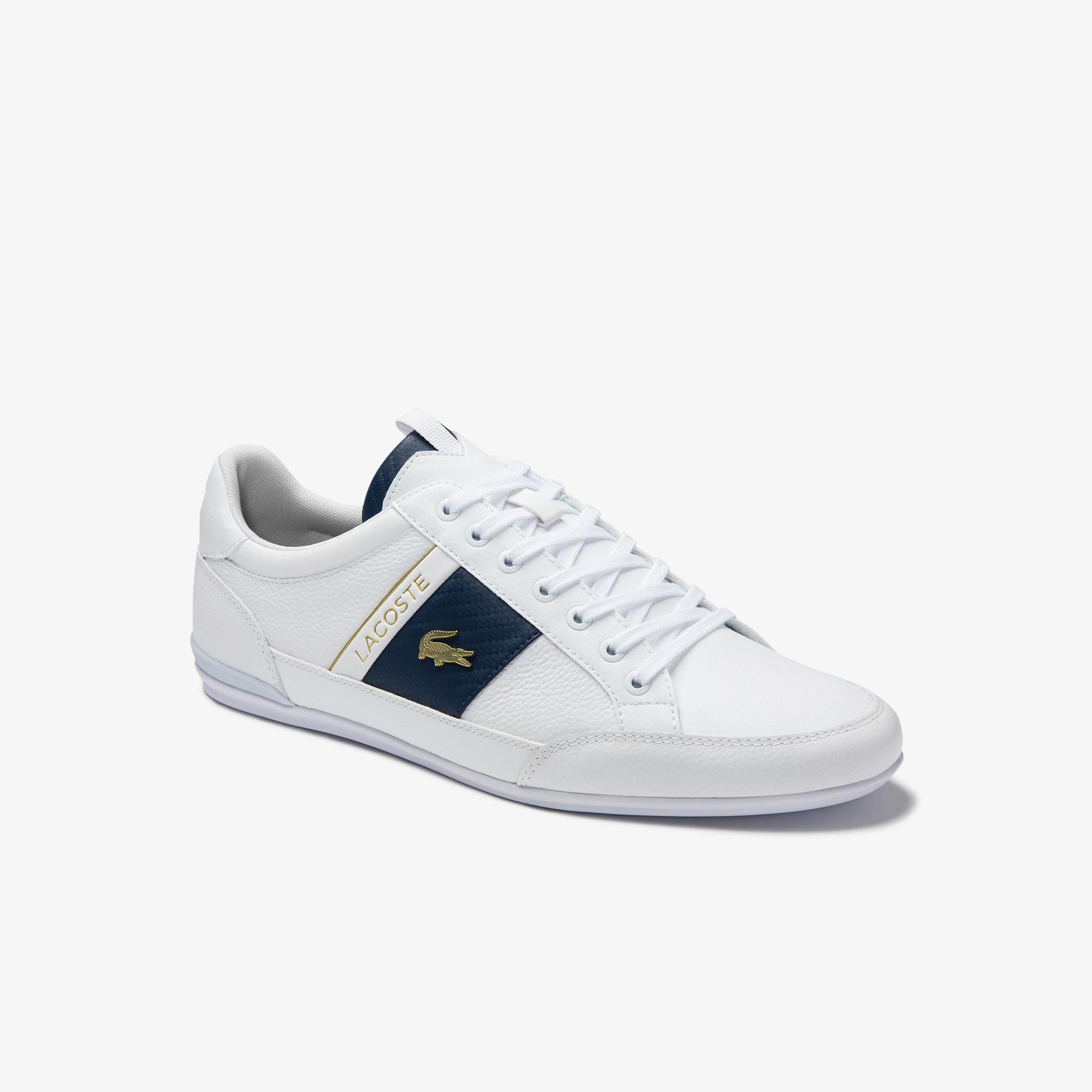 Lacoste Chaymon 0120 1 Cma Erkek Deri Beyaz Casual Ayakkabı