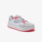Lacoste Court Slam Dynam 01201Sfa Kadın Açık Gri - Pembe Sneaker