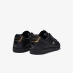Lacoste Carnaby Evo 0120 1 Sfa Kadın Deri Siyah Sneaker