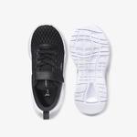 Lacoste Court-Drive 0120 1 Çocuk Siyah - Beyaz Sneaker