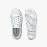 Lacoste Lerond 0120 1 Çocuk Beyaz - Açık Pembe Casual Ayakkabı