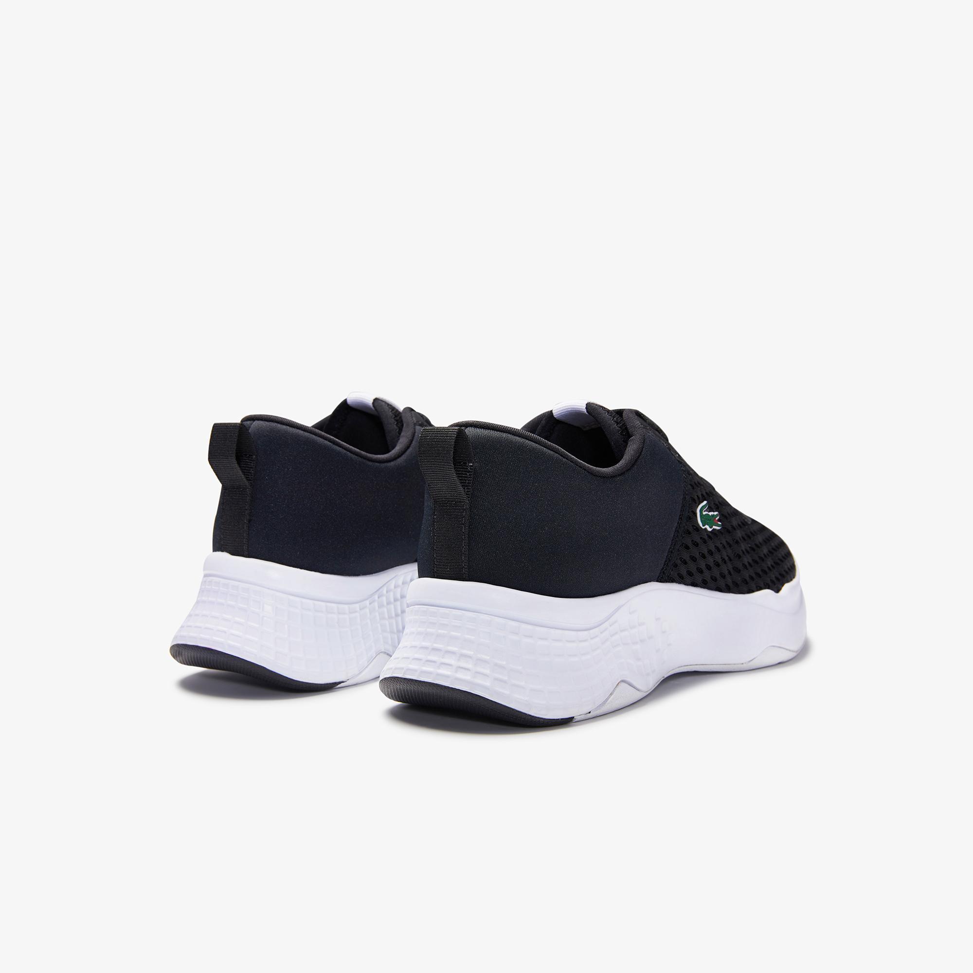 Lacoste Court-Drive 0120 1 Suj Blk/Wht Kadın Siyah - Beyaz Sneaker