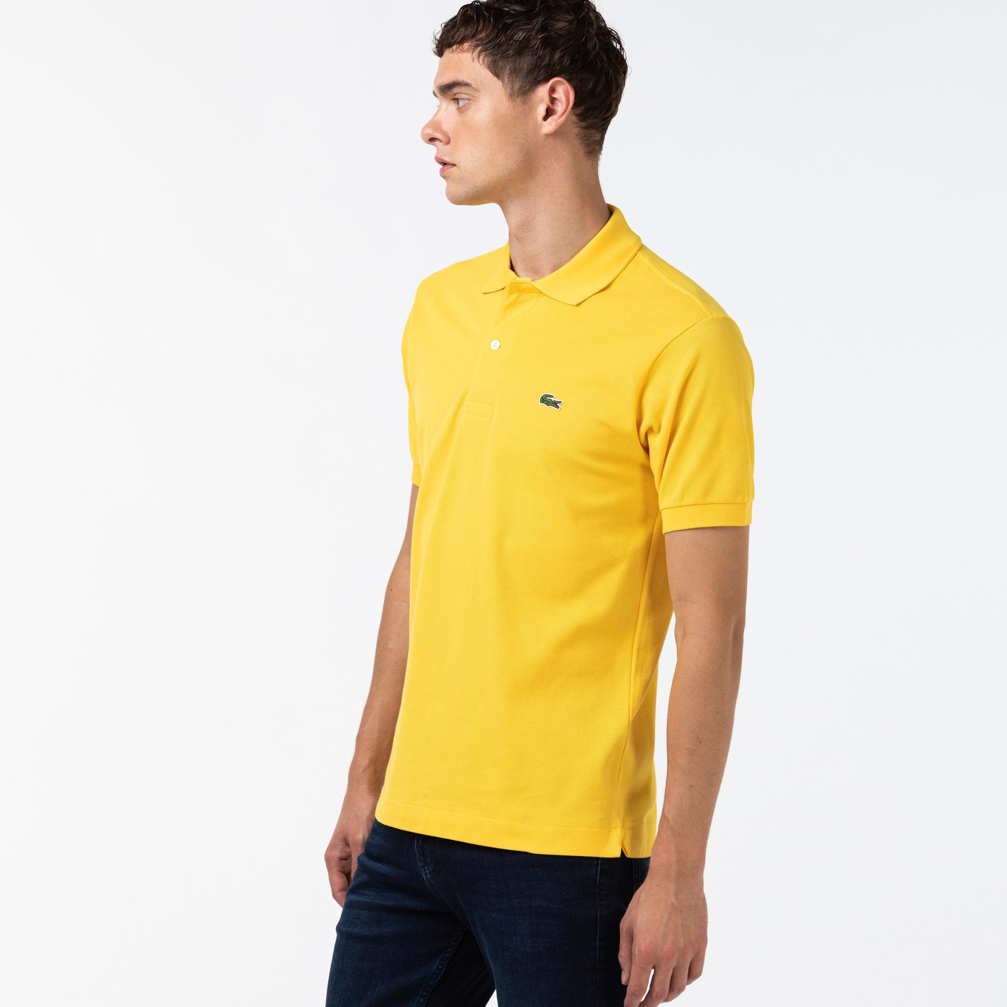 Lacoste Erkek Regular Fit Sarı L1212 Polo