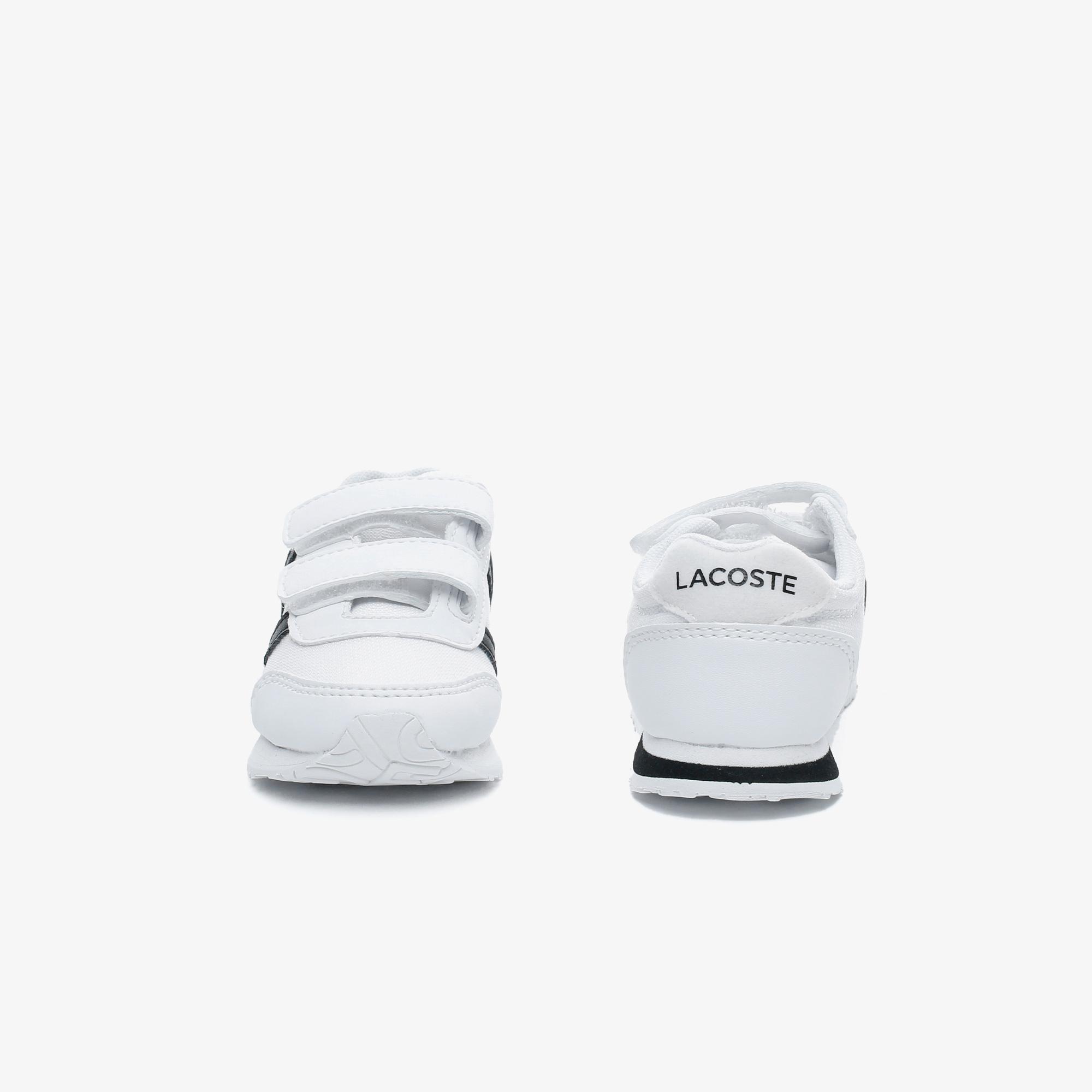 Lacoste Partner 0120 1 Çocuk Beyaz - Siyah Sneaker