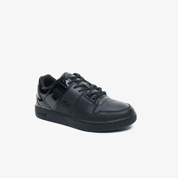 Lacoste Thrill 0120 1 Sfa Kadın Deri Siyah Sneaker