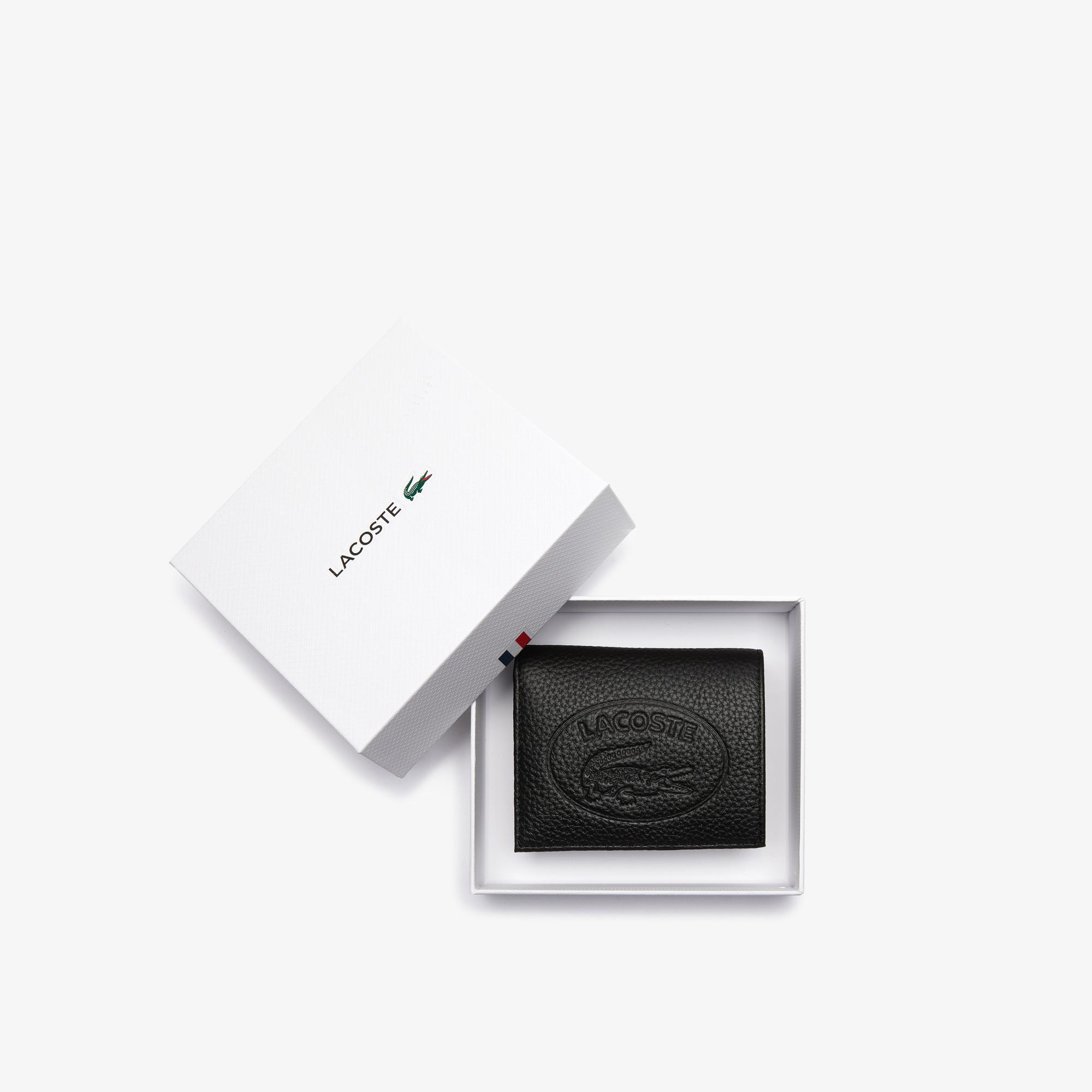 Lacoste Croco Crew Kadın Siyah Telefon Çantası/Cüzdan