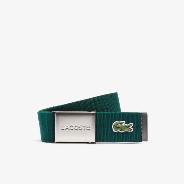 Lacoste L.12.12 Concept Erkek Yeşil Kemer