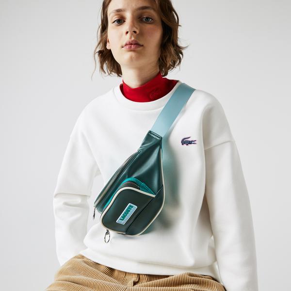 Lacoste Kadın Yeşil - Mavi Bel Çantası
