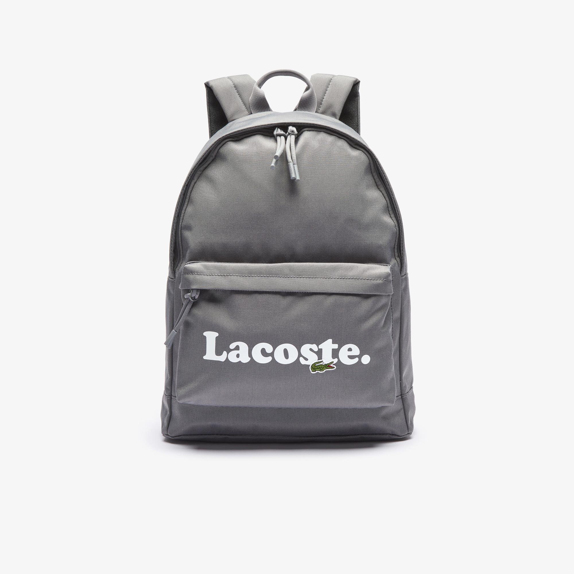 Lacoste Neocroc Erkek Koyu Gri Sırt Çantası