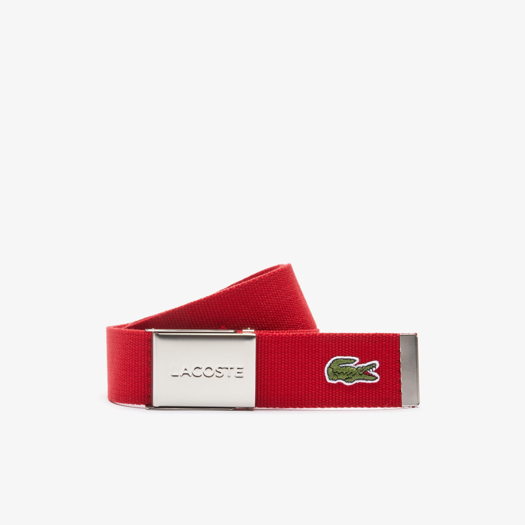 Lacoste L.12.12 Concept Erkek Kırmızı Kemer