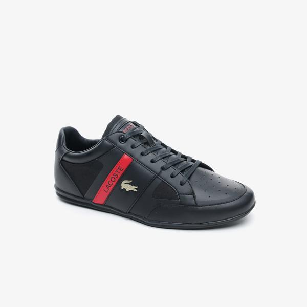 Lacoste Chaymon Tech 0120 3 Cma Erkek Siyah - Kırmızı Casual Ayakkabı