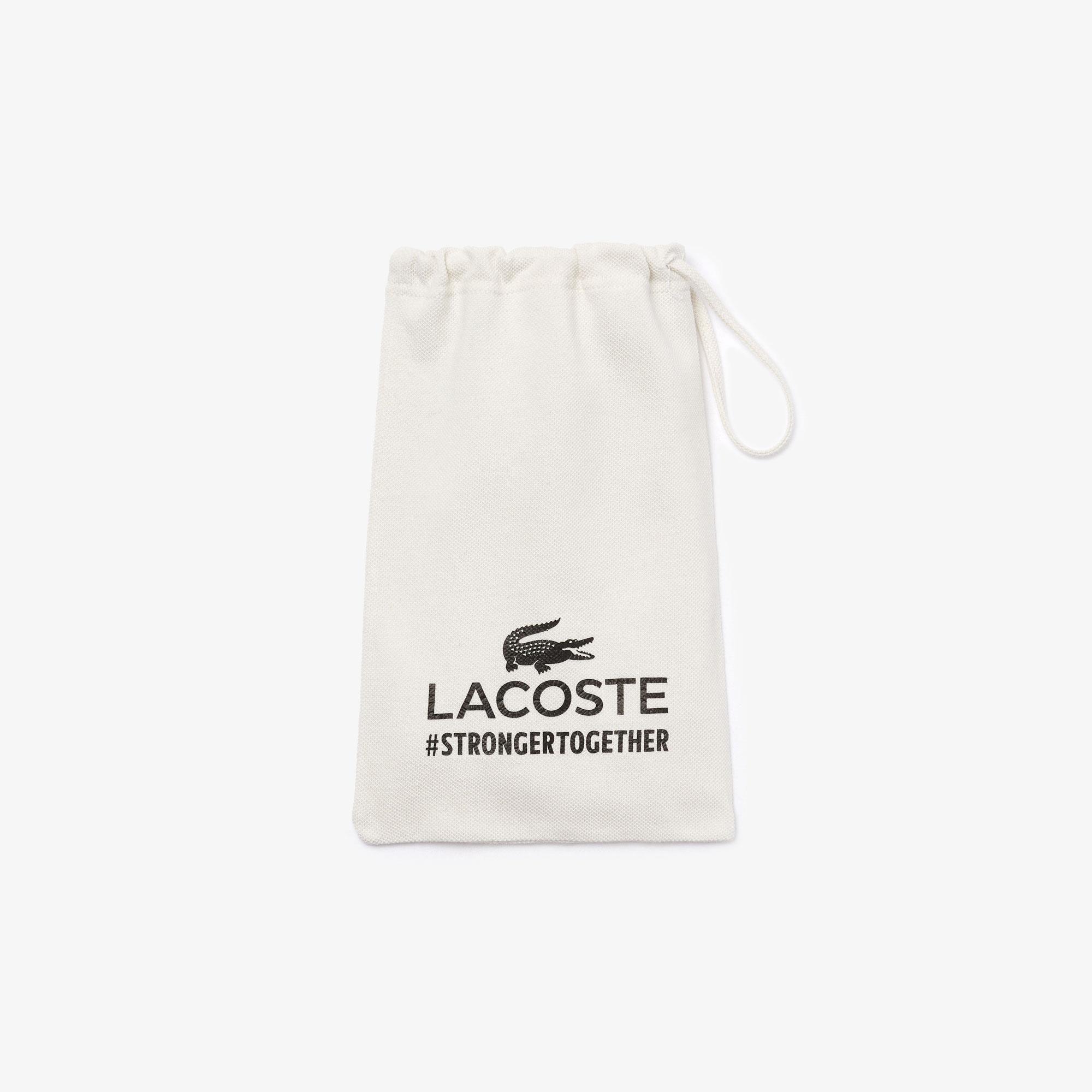 Lacoste Pamuklu Yıkanabilir Lacivert Maske
