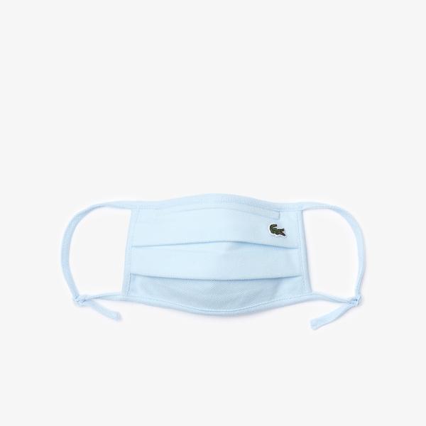 Lacoste Pamuklu Yıkanabilir Mavi Maske