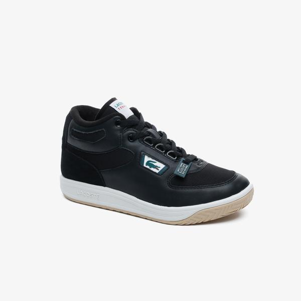 Lacoste Balsa 0320 2 Sma Erkek Deri Siyah - Beyaz Mid Ayakkabı