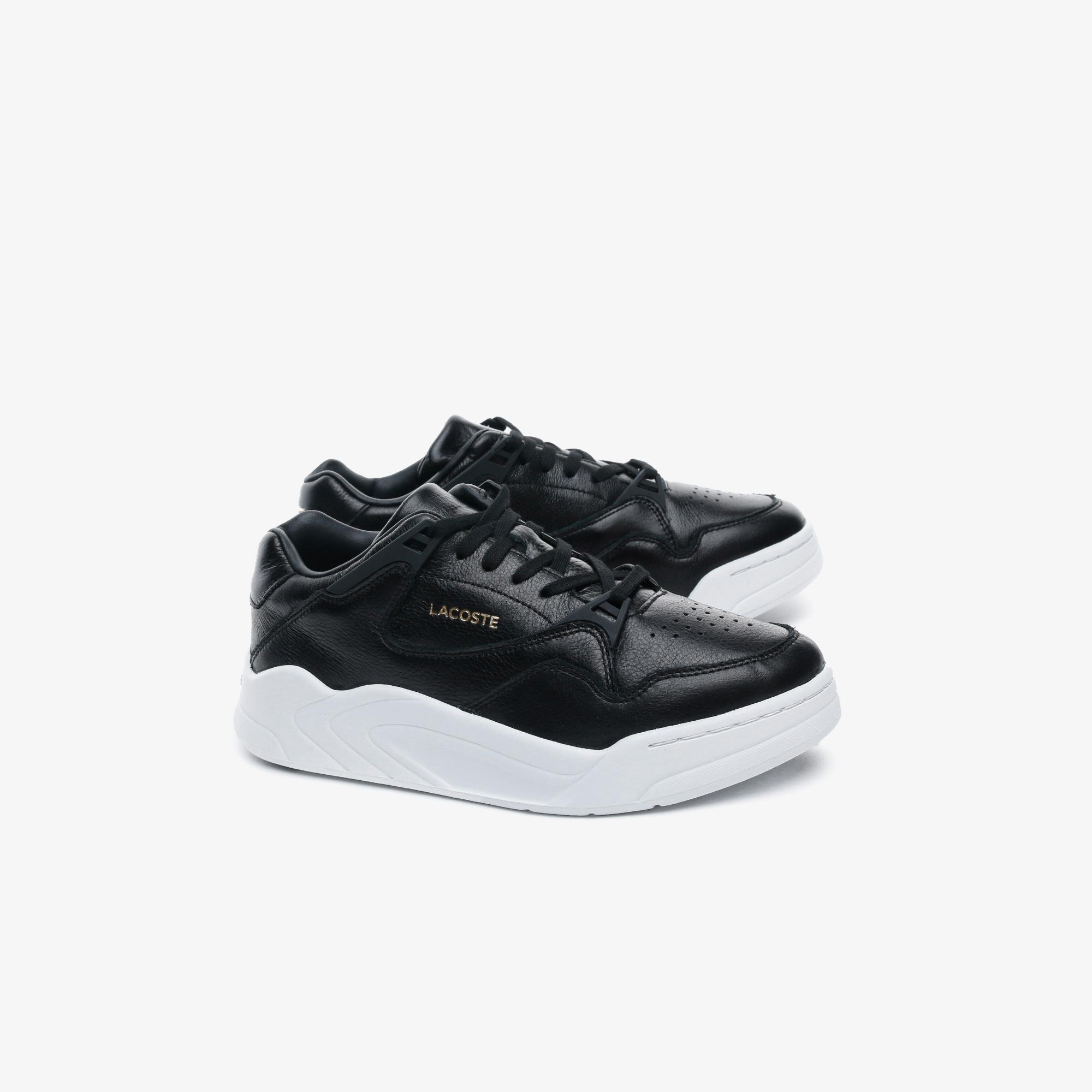 Lacoste Court Slam 0320 2 Sfa Kadın Deri Siyah Sneaker