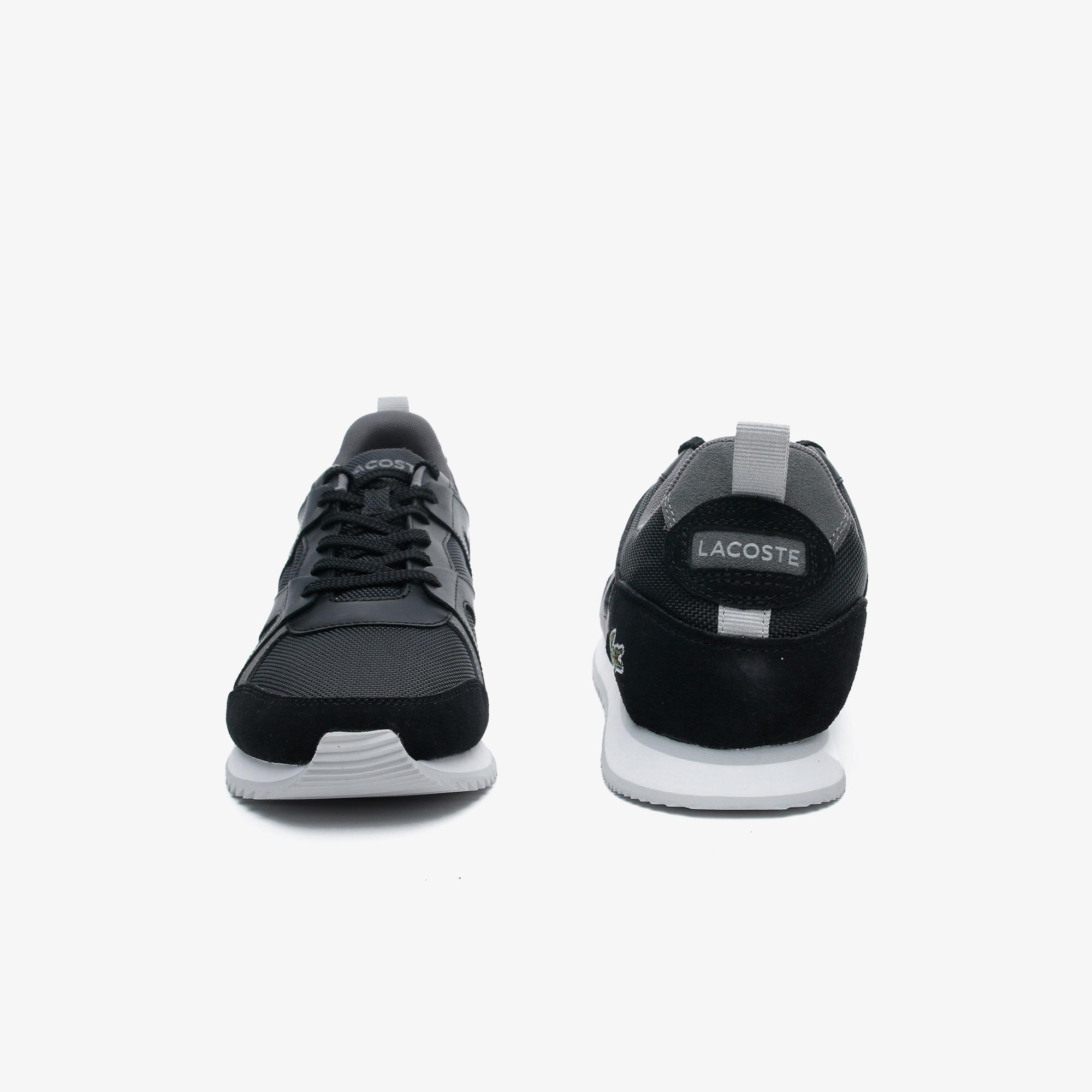 Lacoste Aesthet 120 2 Erkek Siyah - Gri Sneaker