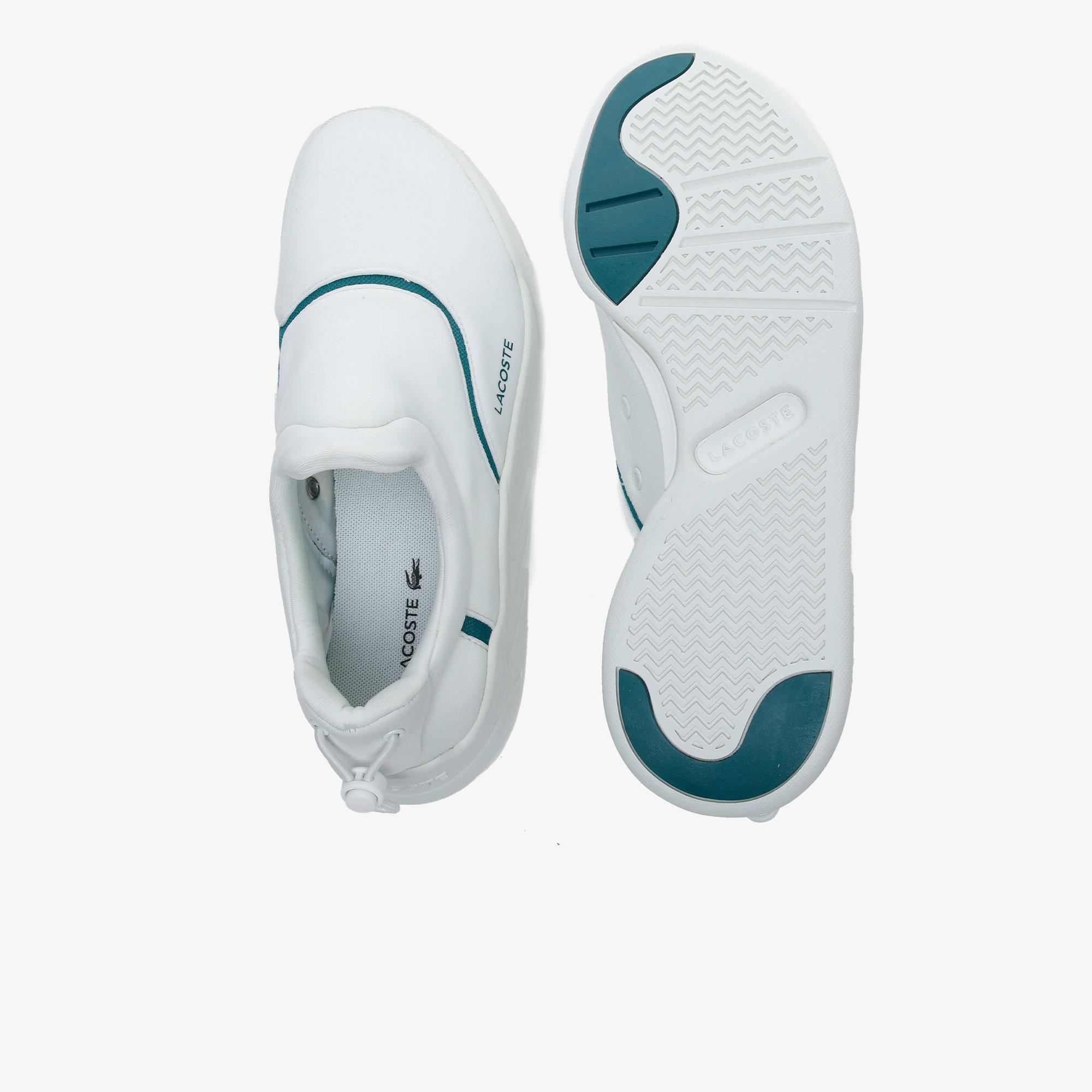 Lacoste Court Slam Neo 220 1 Kadın Beyaz - Yeşil Sneaker