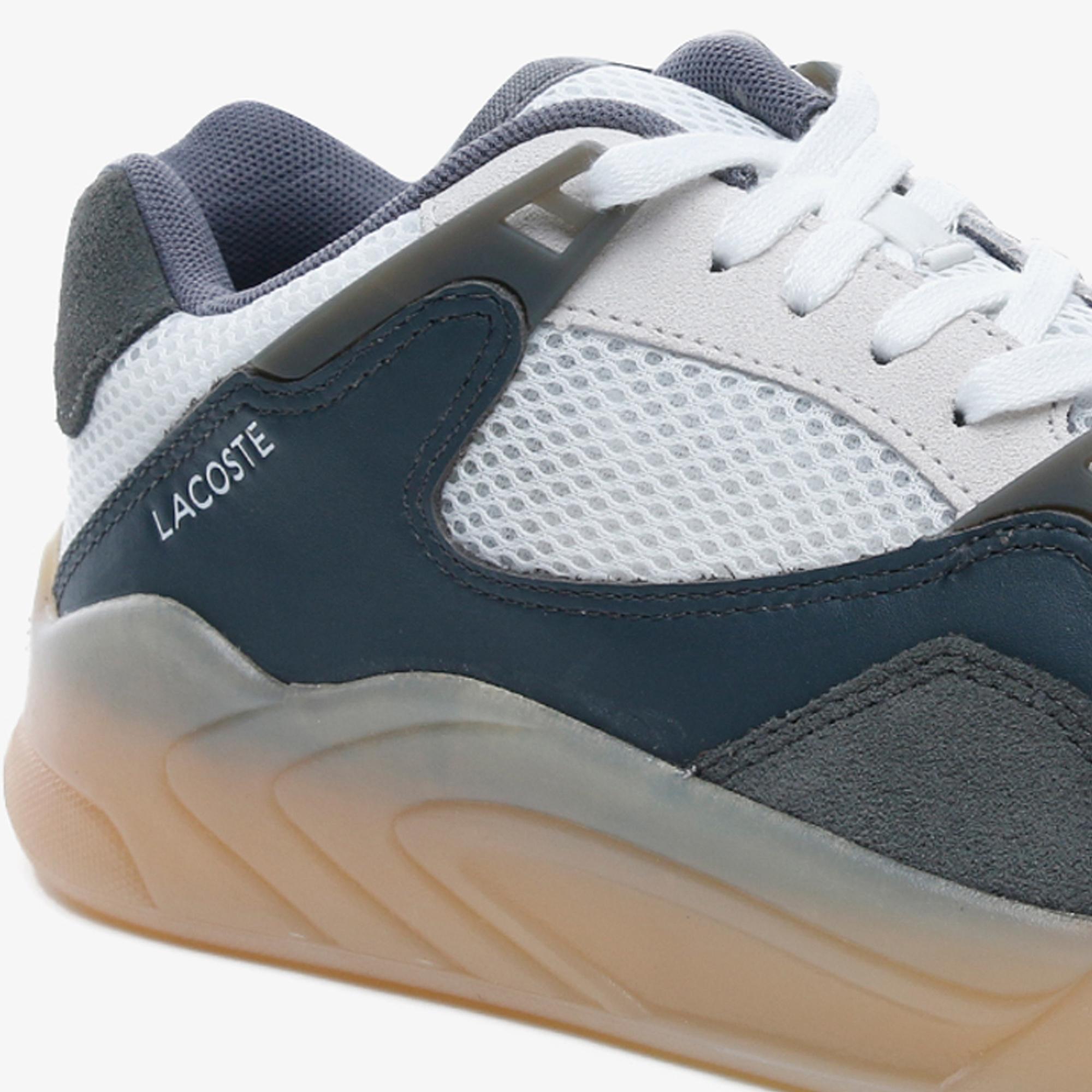 Lacoste Court Slam Dynamic 2201 Kadın Gri - Beyaz Sneaker