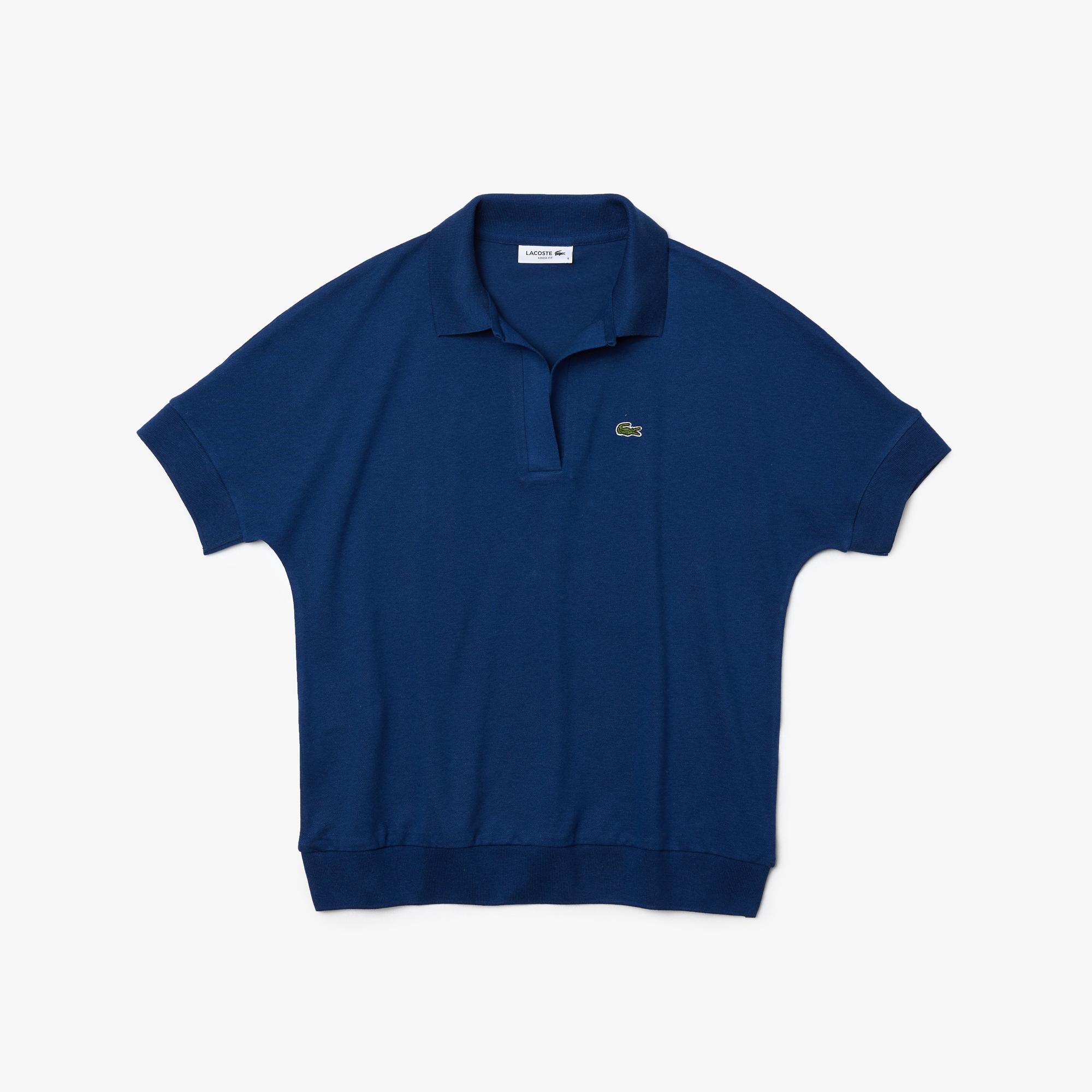 Lacoste Kadın Mavi Polo