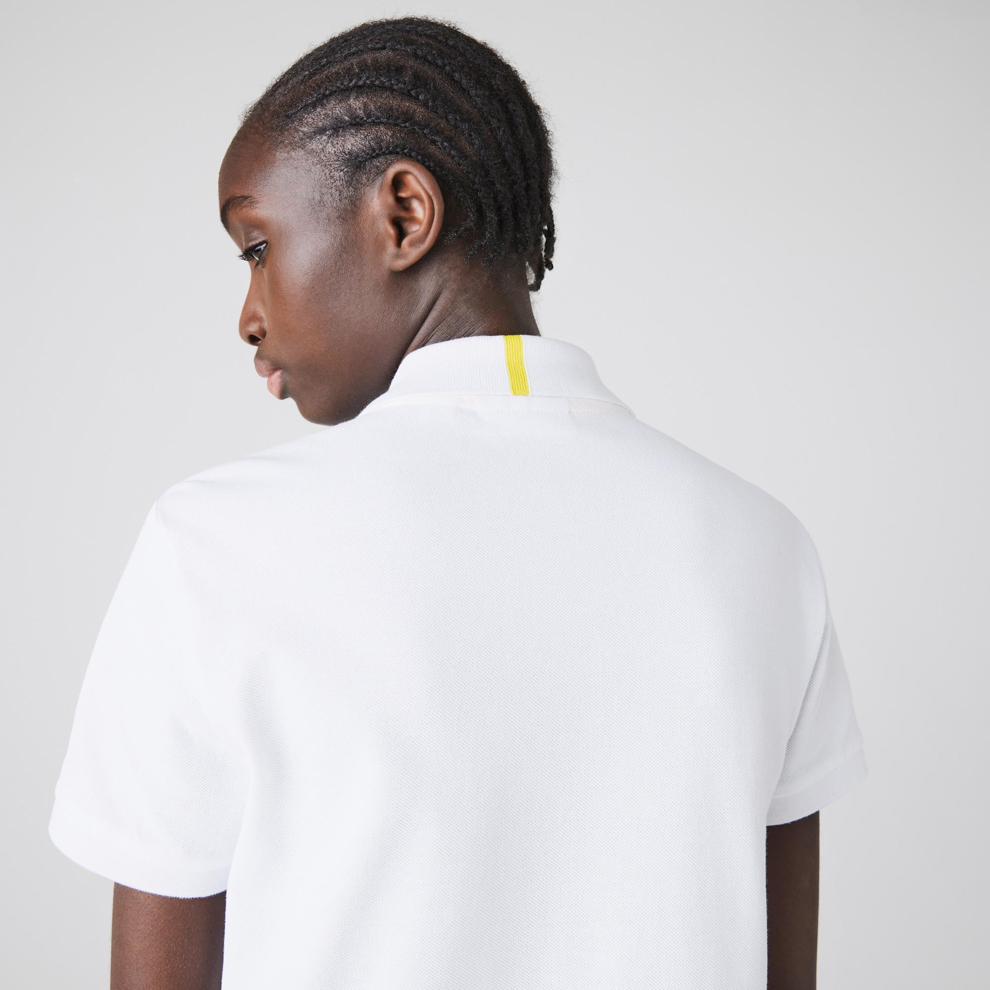 Lacoste x National Geographic Kadın Beyaz Polo