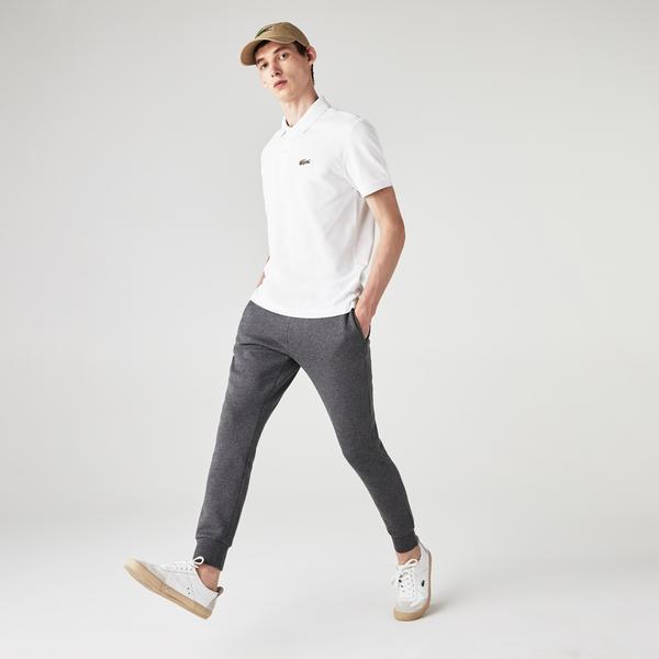 Lacoste x National Geographic Erkek Regular Fit Beyaz Polo