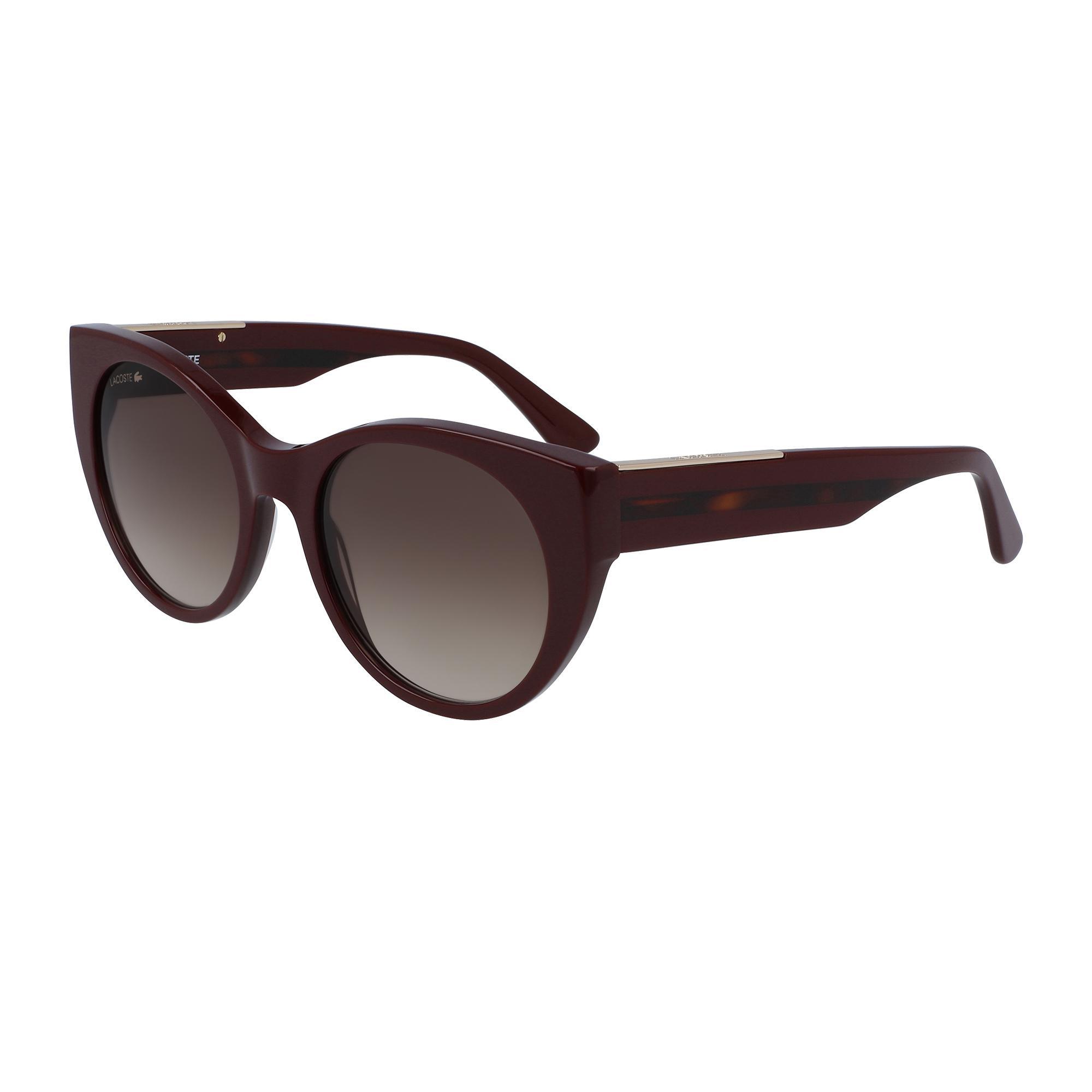 Lacoste Kadın Bordo Güneş Gözlüğü