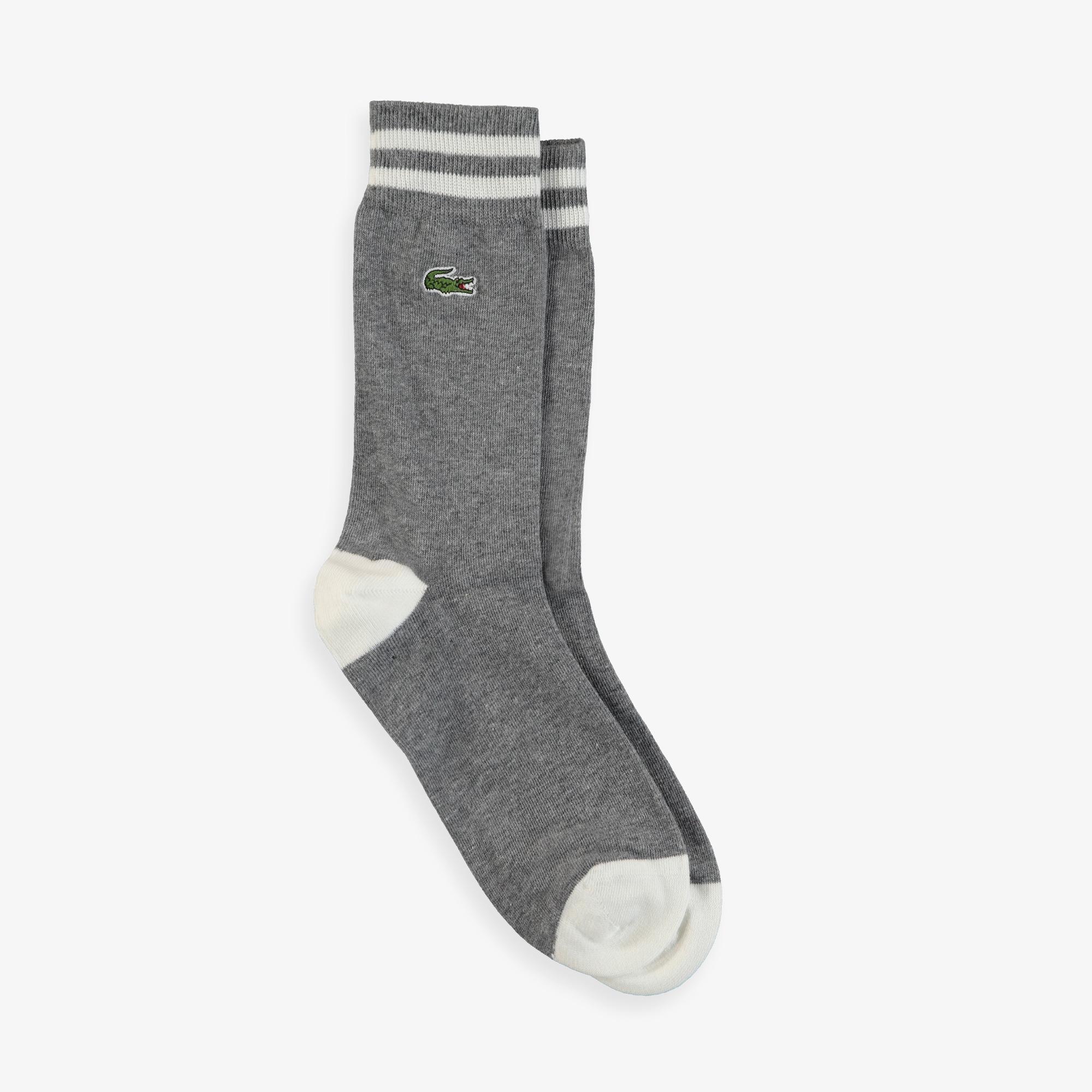 Lacoste Unisex Gri Çorap
