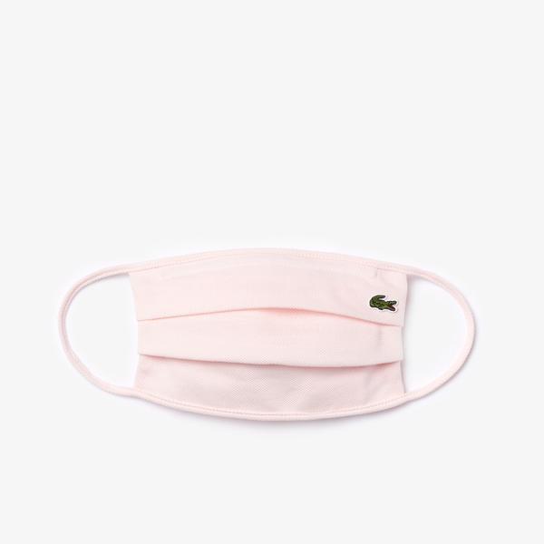 Lacoste Pamuklu Yıkanabilir Açık Pembe L1212 Maske