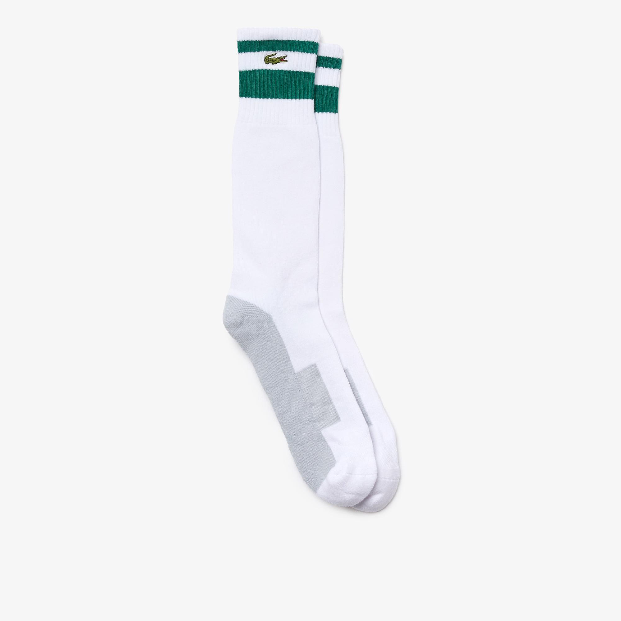 Lacoste Sport Erkek Uzun Renkli Çorap